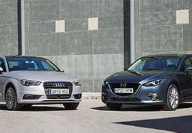 Audi A3 Sedan VS. Mazda 3